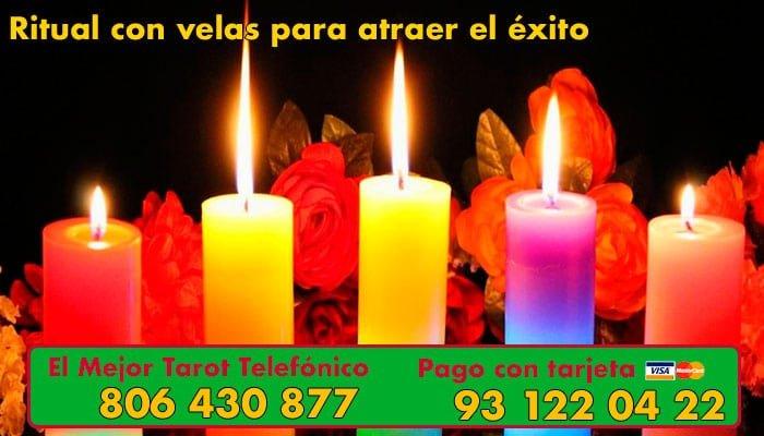 Ritual con velas para atraer el exito en Nochevieja