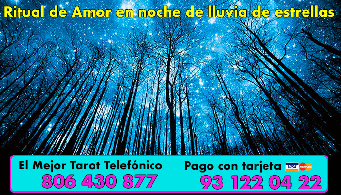 Ritual de Amor para una noche de lluvia de estrellas