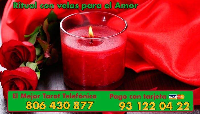 Ritual con velas para el Amor