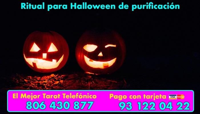 Ritual de halloween de purificacion