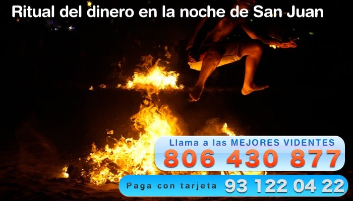 Ritual del dinero en la noche de San Juan