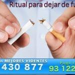 Ritual para dejar de fumar