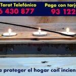 Ritual para proteger el hogar con incienso y velas