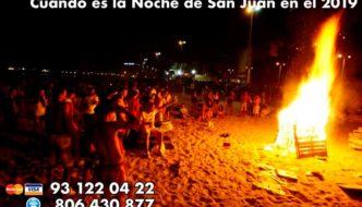 Cuándo es la Noche de San Juan en el 2019