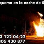 ¿Qué se quema en la noche de San Juan?
